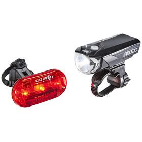 CatEye GVOLT20/OMNI3G Fietsverlichting sets EL350G/LD135G zwart